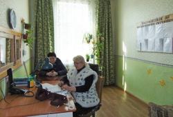 Керівники області в ході робочого візиту оглянули відремонтоване приміщення швидкої допомоги