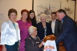 На Тальнівщині привітали героїню-трудівницю